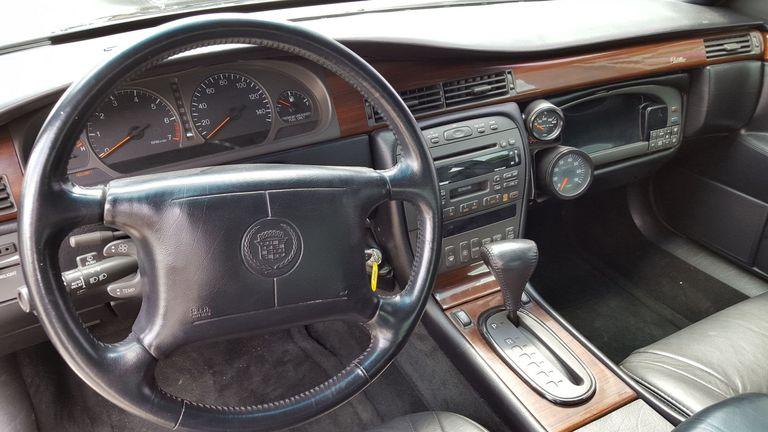 Mosler TwinStar Cadillac Eldorado interior front