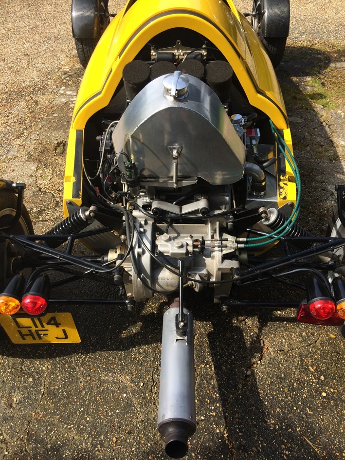 light car company rocket rear engine