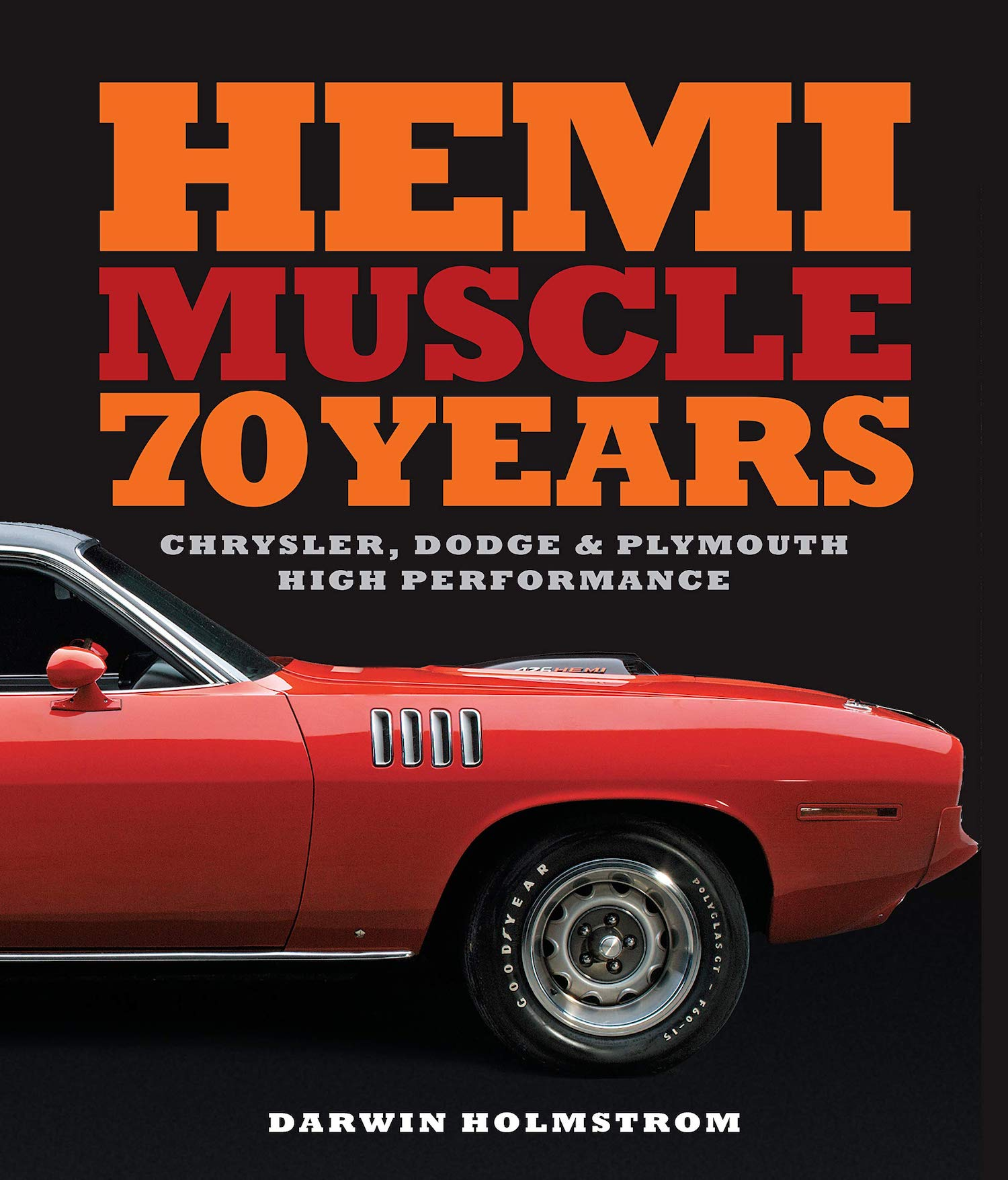 70 years of hemi muscle cars book front cover