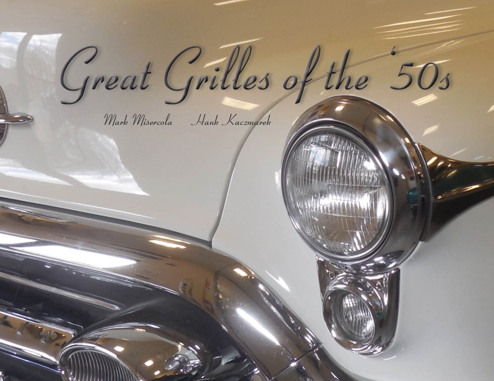 1950s car grilles book front cover