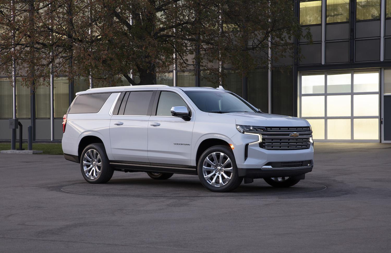Chevrolet Suburban front three-quarter