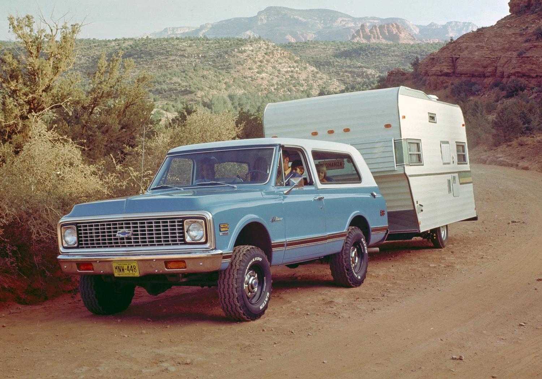 1969 Chevrolet K5 Blazer front three-quarter