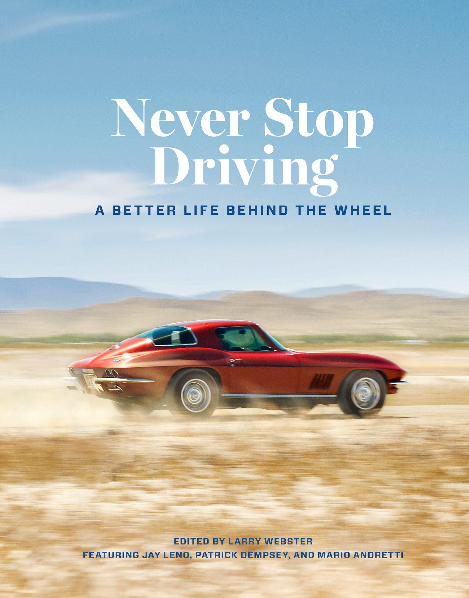 never stop driving book front cover