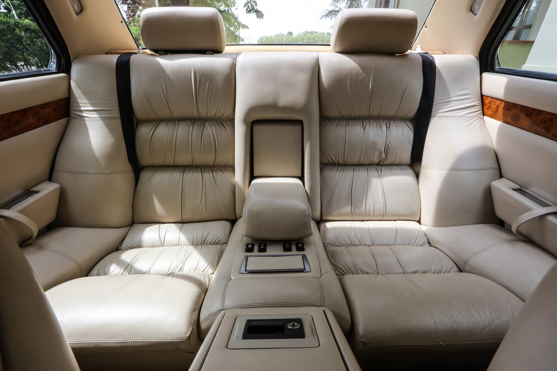 third generation interior rear seat