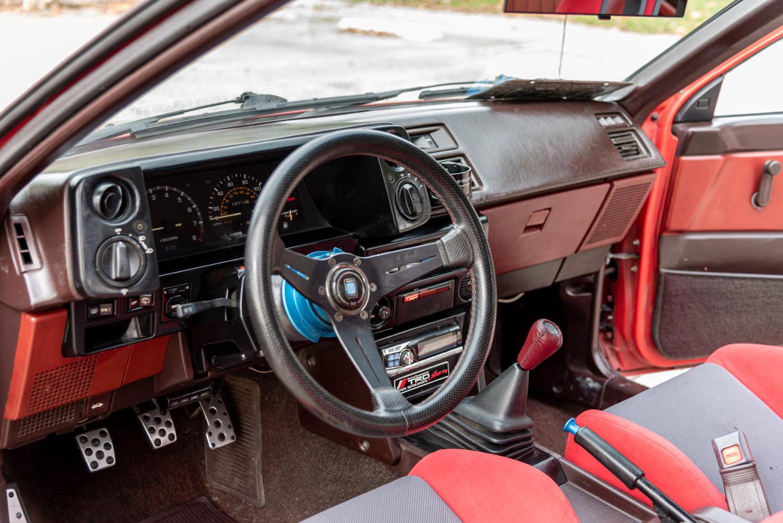 interior wheel and dash