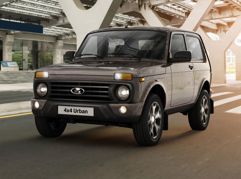 Lada updates the Niva