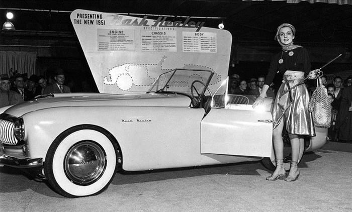 1951 nash-healey convertible debut