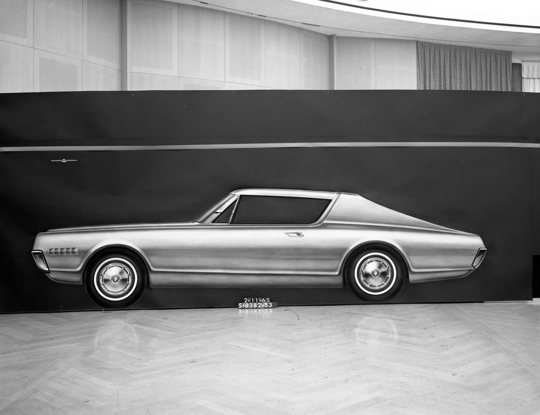 Mercury Cougar design