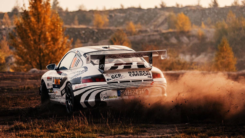 911 GT3 rear