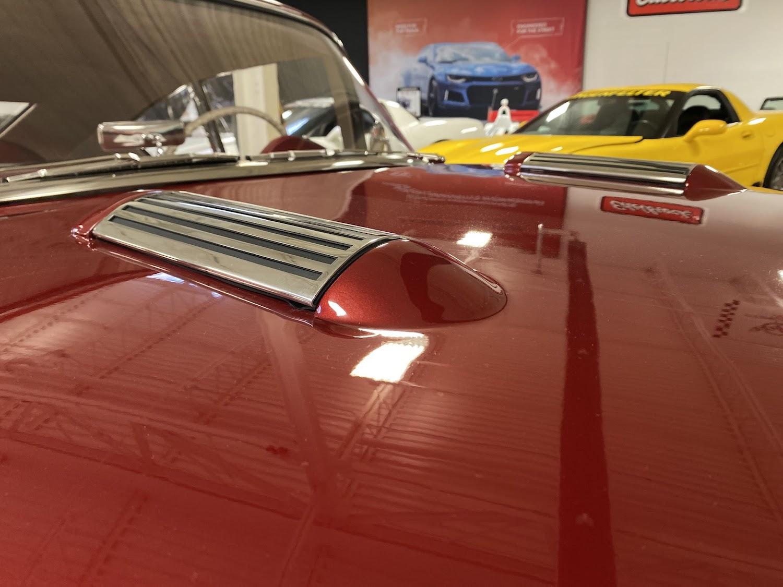 1954 chevrolet motorama corvair front hood