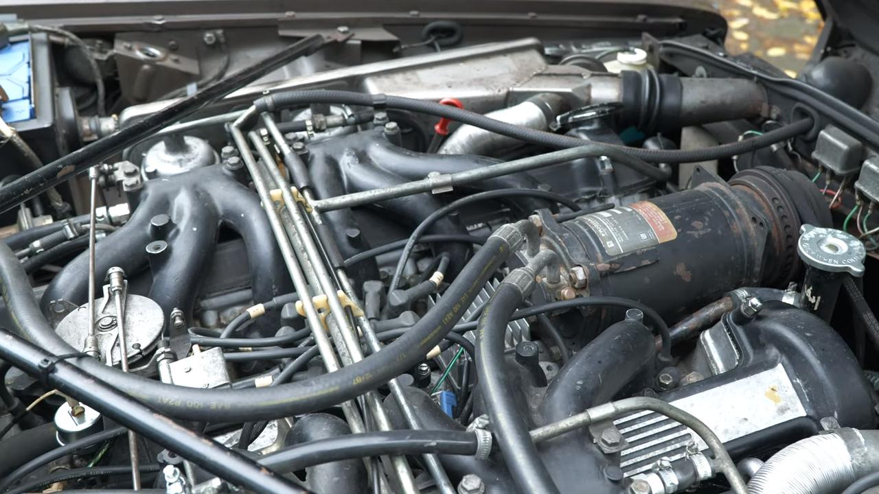 engine close-up