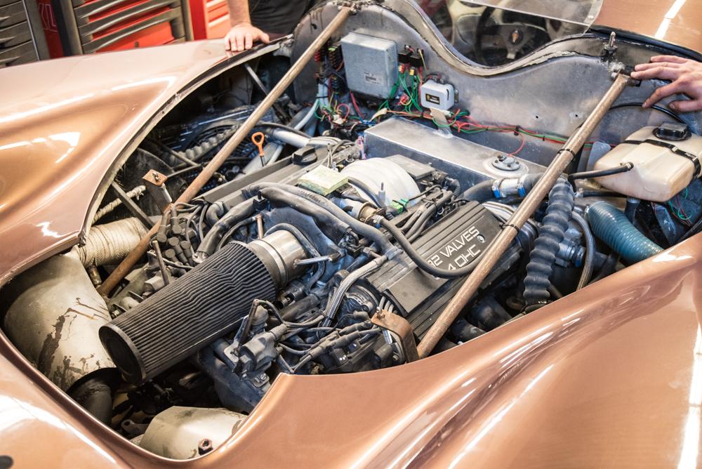 Koenigsegg K 2015 Prototype rear engine