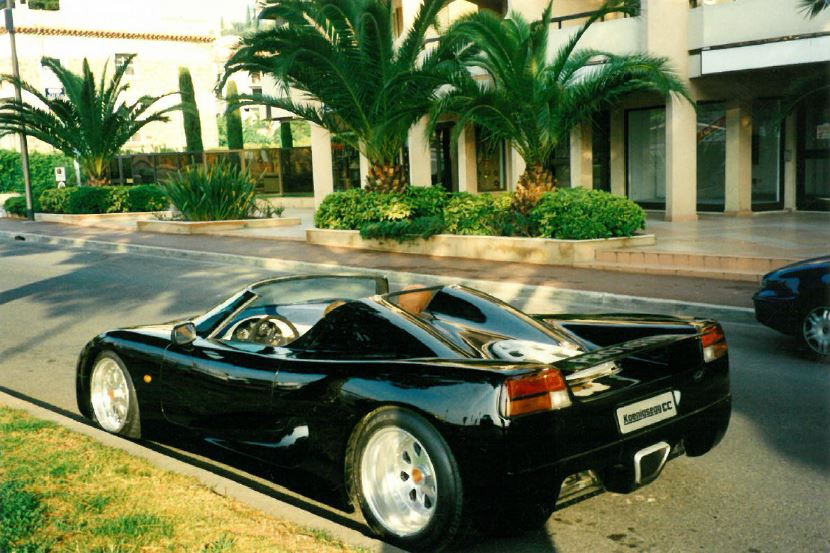 black prototype rear three-quarter