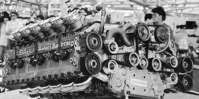 early boxer engine production