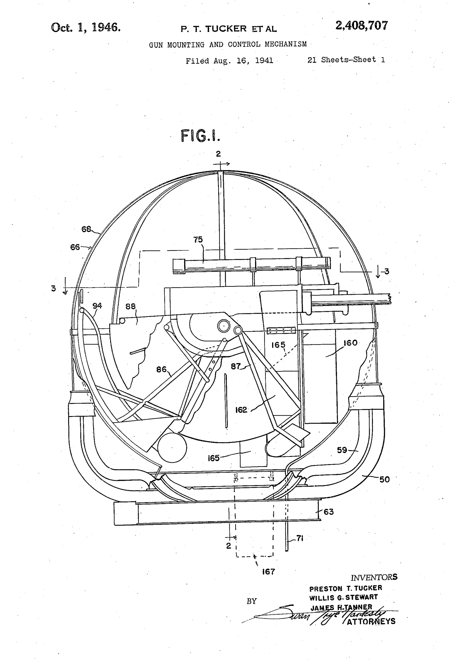 tucker tiger tank patent office