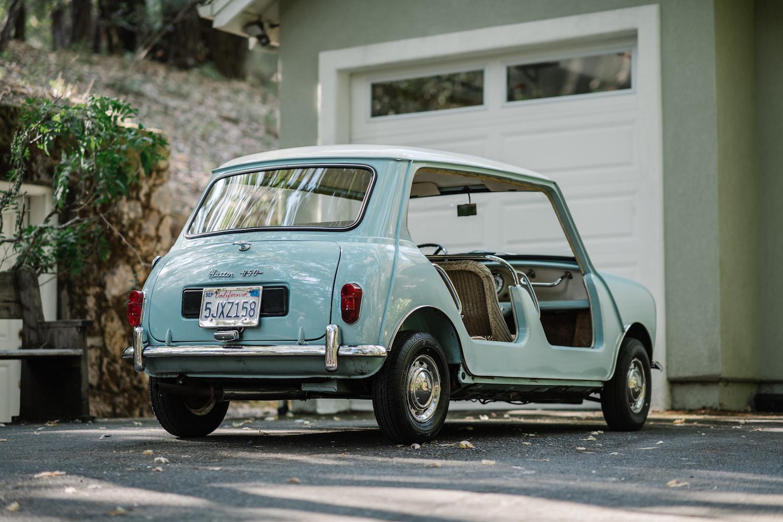1962 Austin Mini Beach Car rear three-quarter