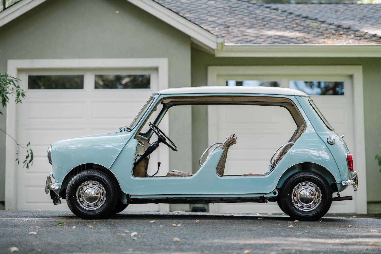 1962 Austin Mini Beach Car side-view