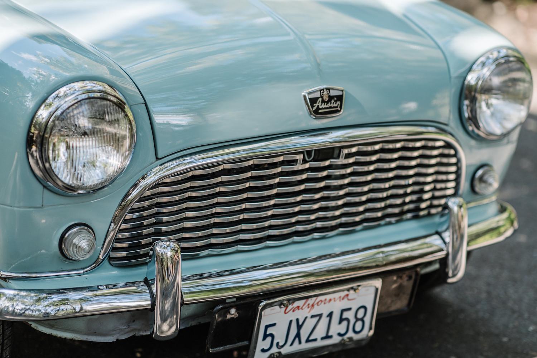 1962 Austin Mini Beach Car front detail