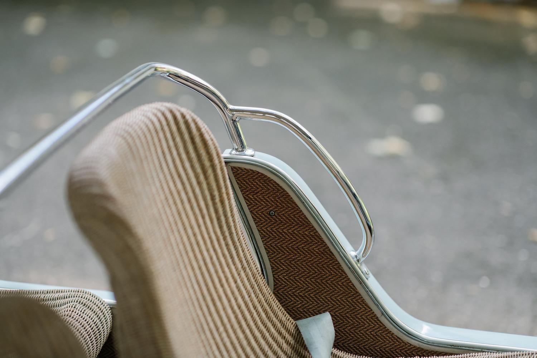 1962 Austin Mini Beach Car seat detail