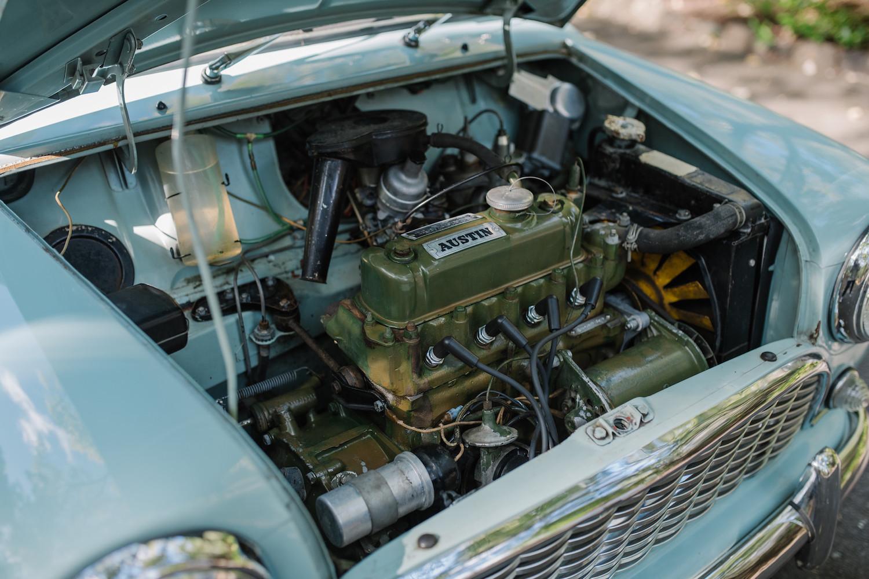 1962 Austin Mini Beach Car engine