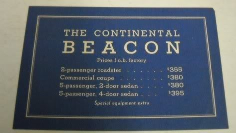 Beacon price list