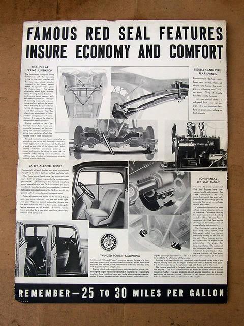 Continental brochure
