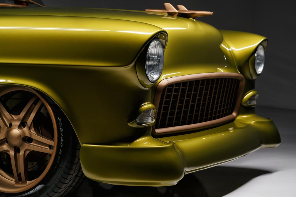 wagon front closeup