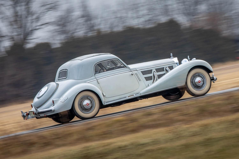 1937 Mercedes-Benz 540 K Coupe