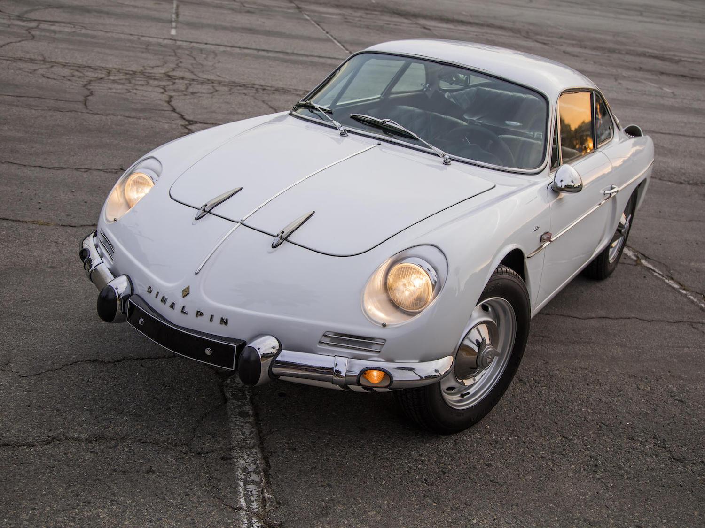 1971 Dinalpin A110 white front three-quarter