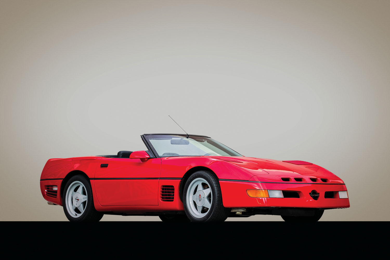 1988 Chevrolet Callaway Corvette Twin Turbo Convertible