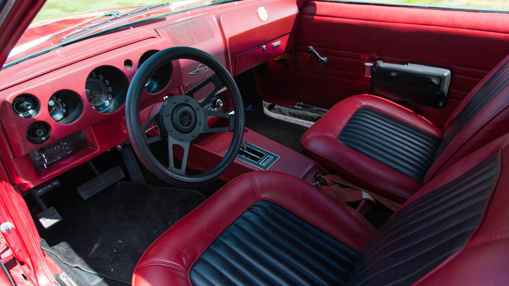 1968 AMC Javelin interior
