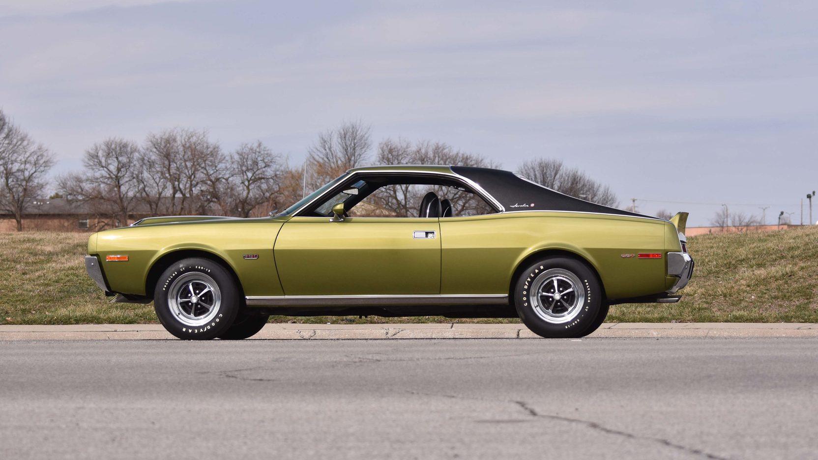 1970 AMC Javelin side profile