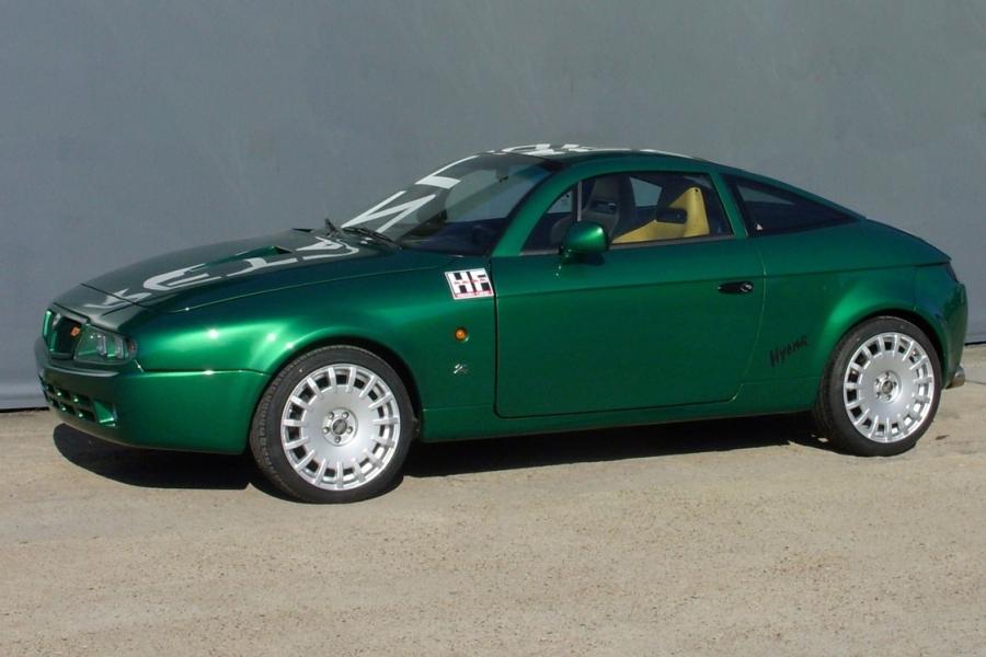 Lancia Zagato Hyena side-view
