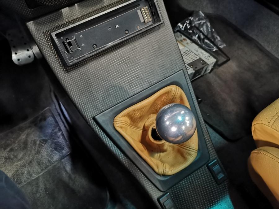 1992 Lancia Hyena Zagato shifter