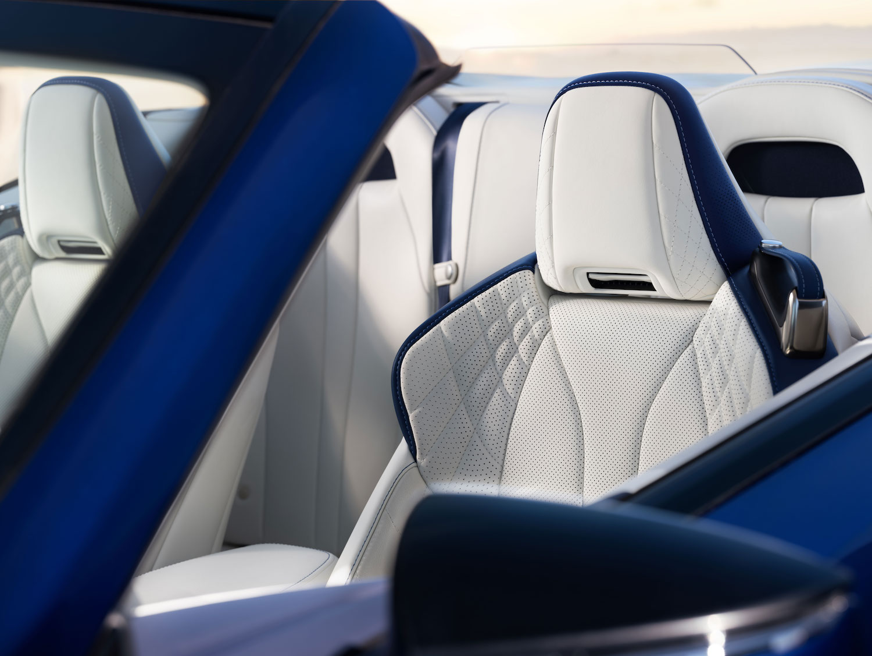 interior seats detail