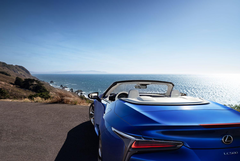 rear view at oceanside overlook