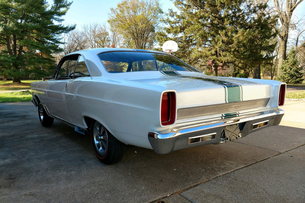 1966 Ford Fairlane 500 GT-X Prototype Show Car rear three-quarter