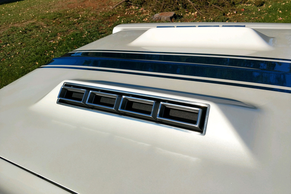 1966 Ford Fairlane 500 GT-X Prototype Show Car front hood