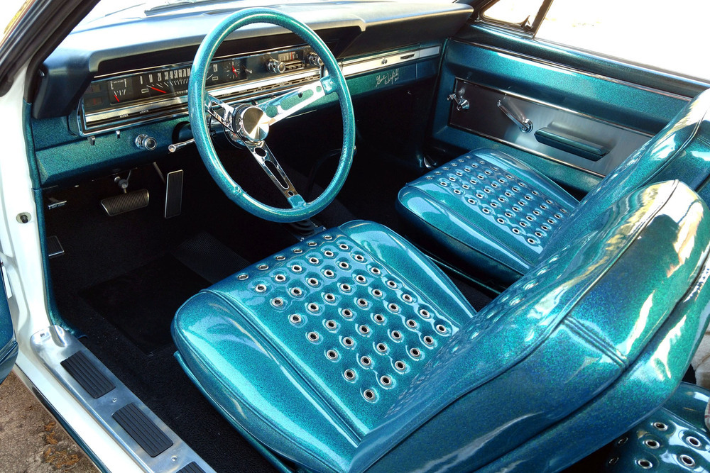 1966 Ford Fairlane 500 GT-X Prototype Show Car interior