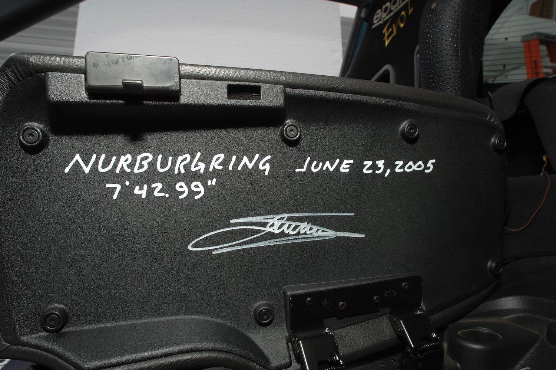 nurburgring lap time signature