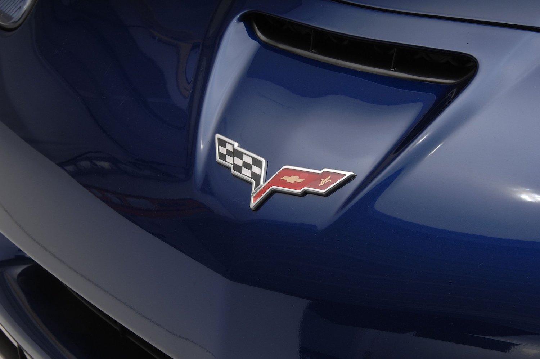 front air intake hood emblem