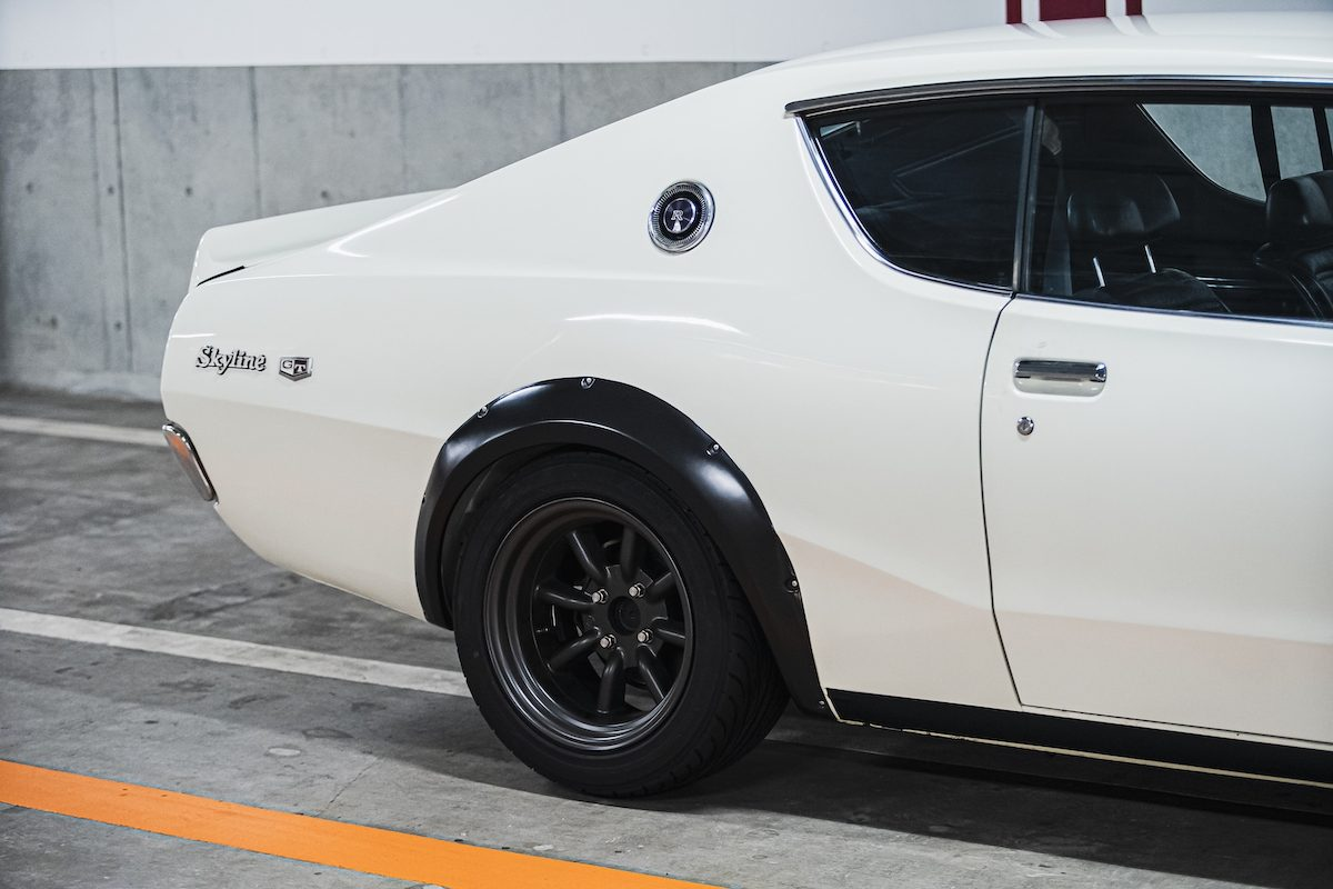 rear quarter panel detail