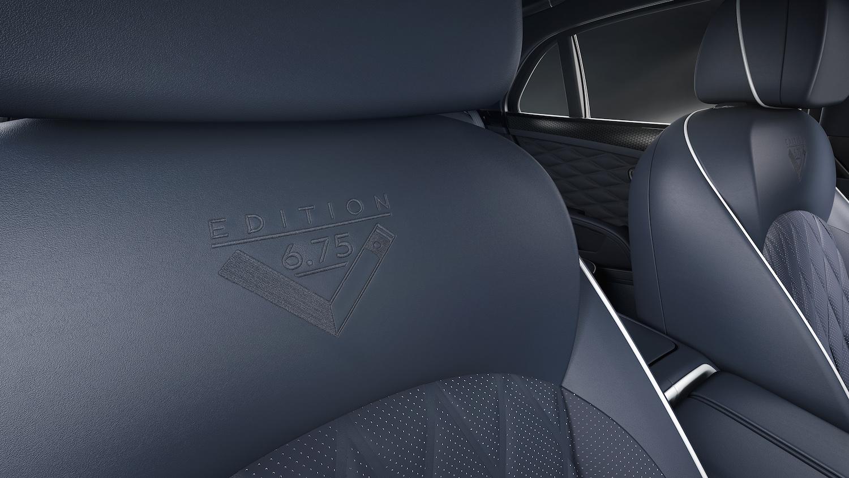 interior navy seats