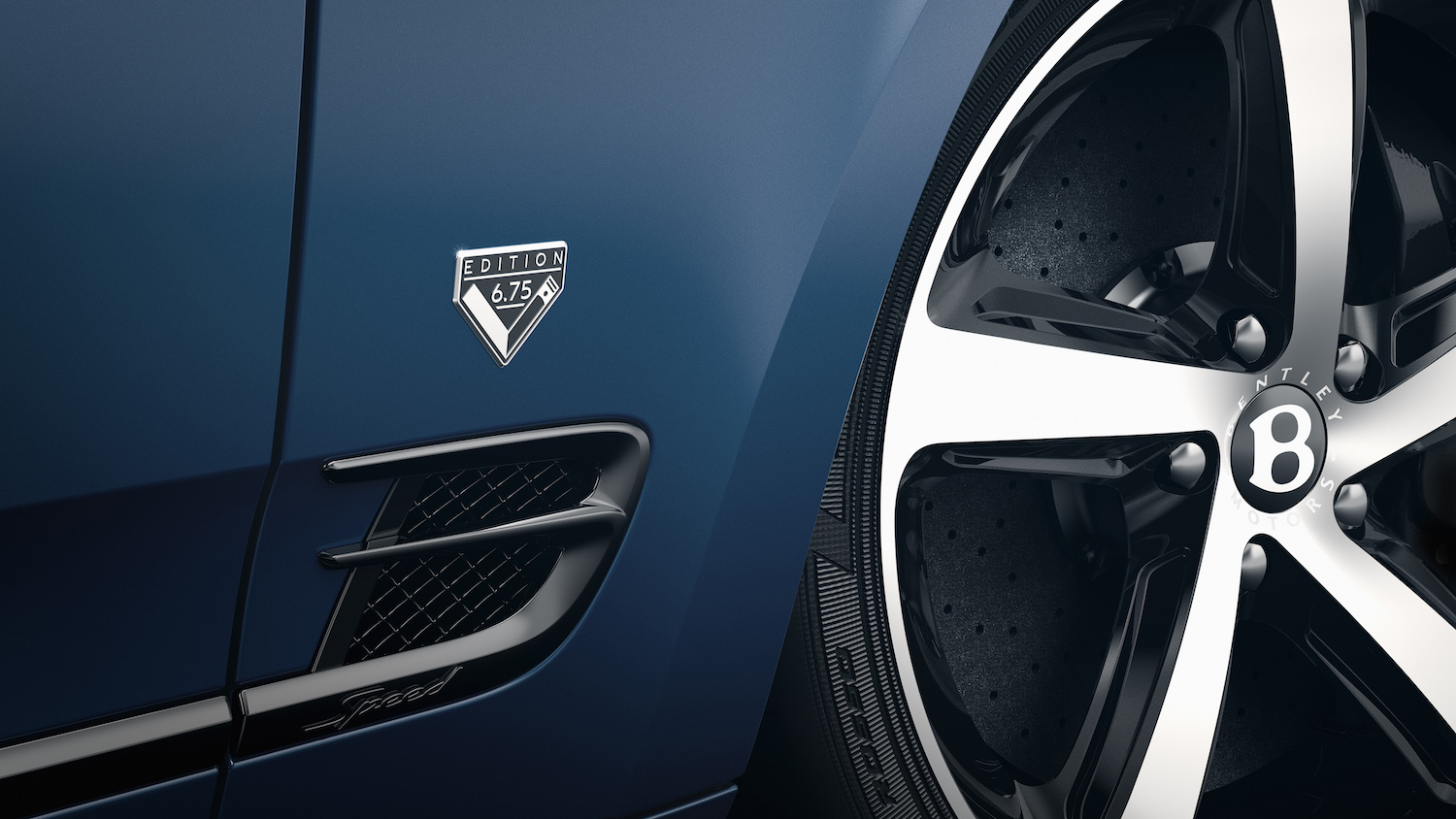 special edition front badge and wheel