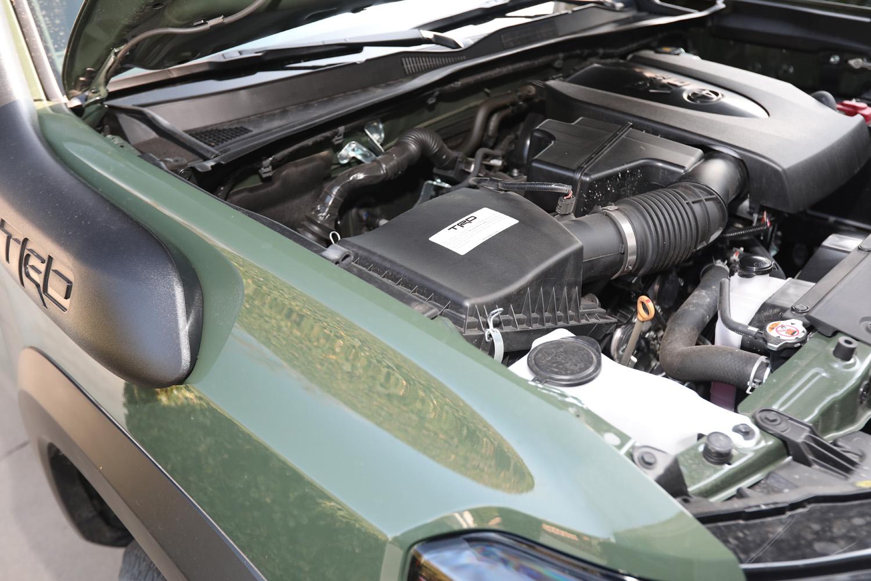 2020 Toyota Tacoma TRD engine intake