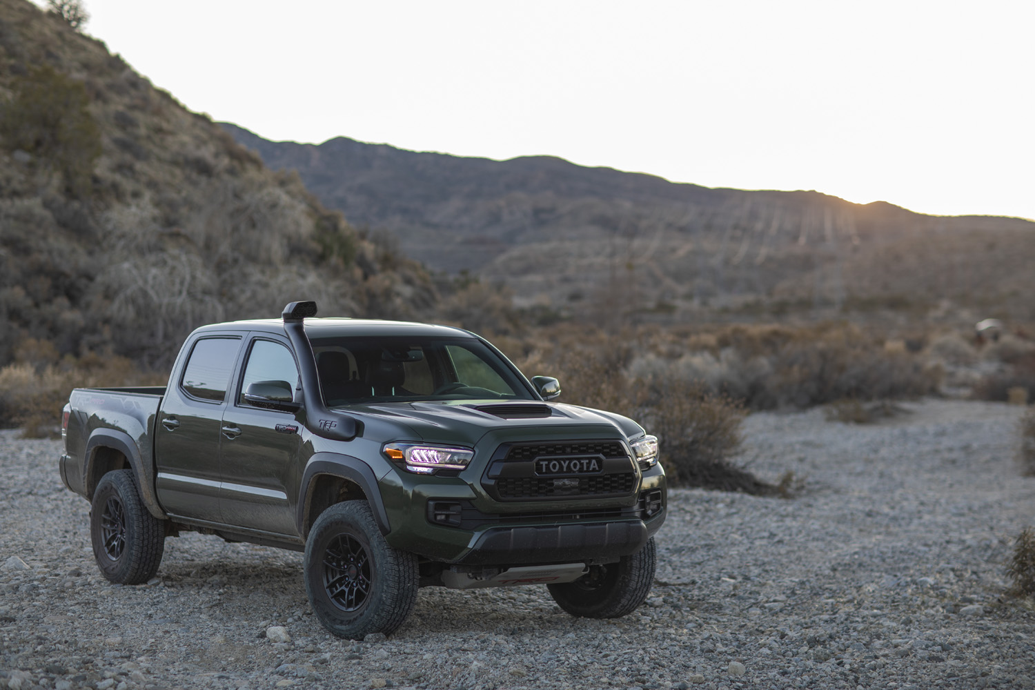 2020 Toyota Tacoma TRD front wide