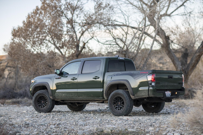 2020 Toyota Tacoma TRD rear