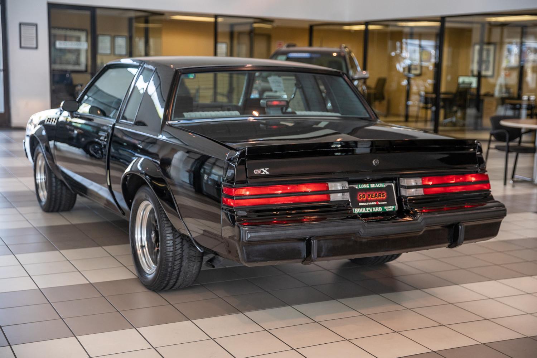 1987 Buick GNX rear three-quarter