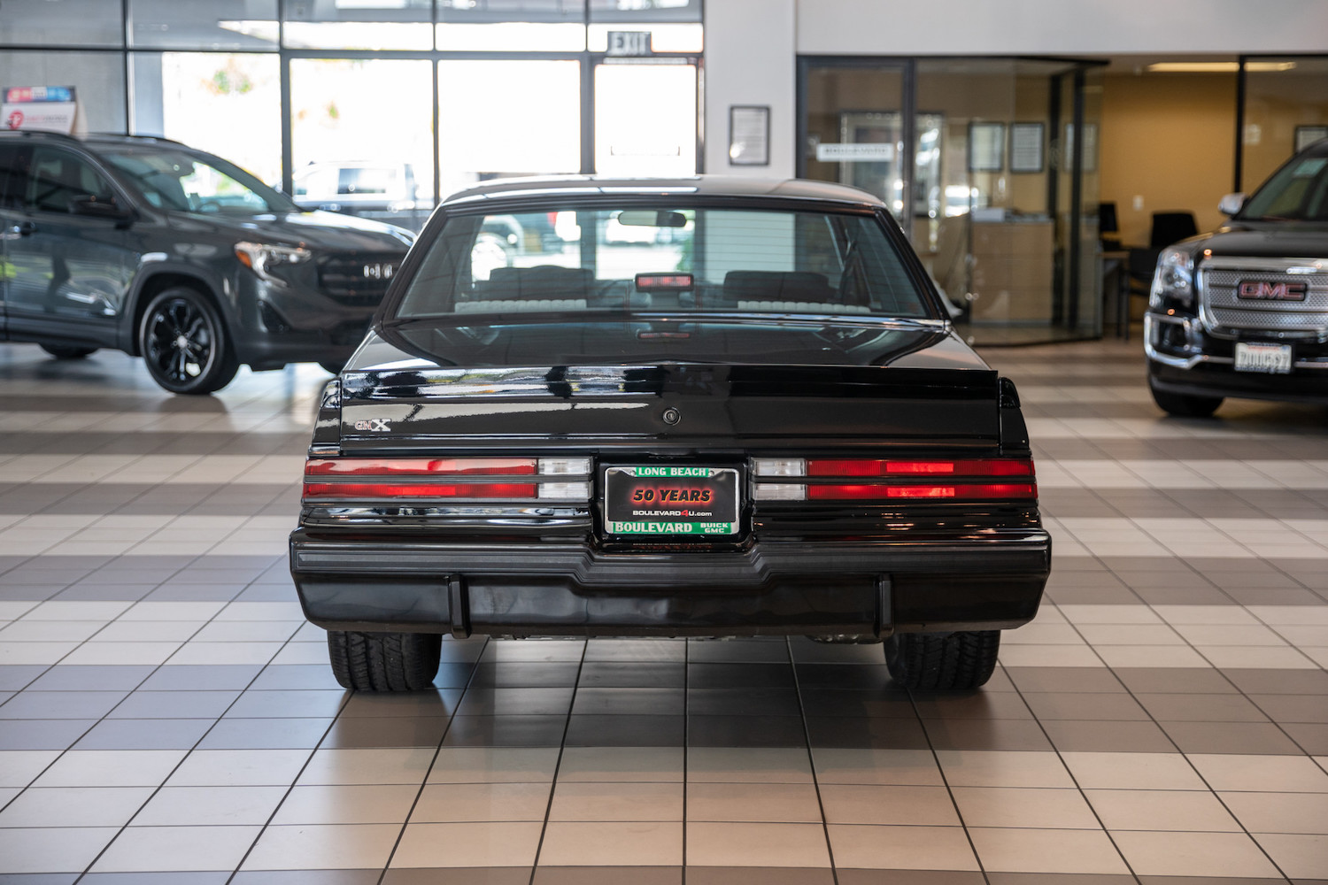 1987 Buick GNX rear