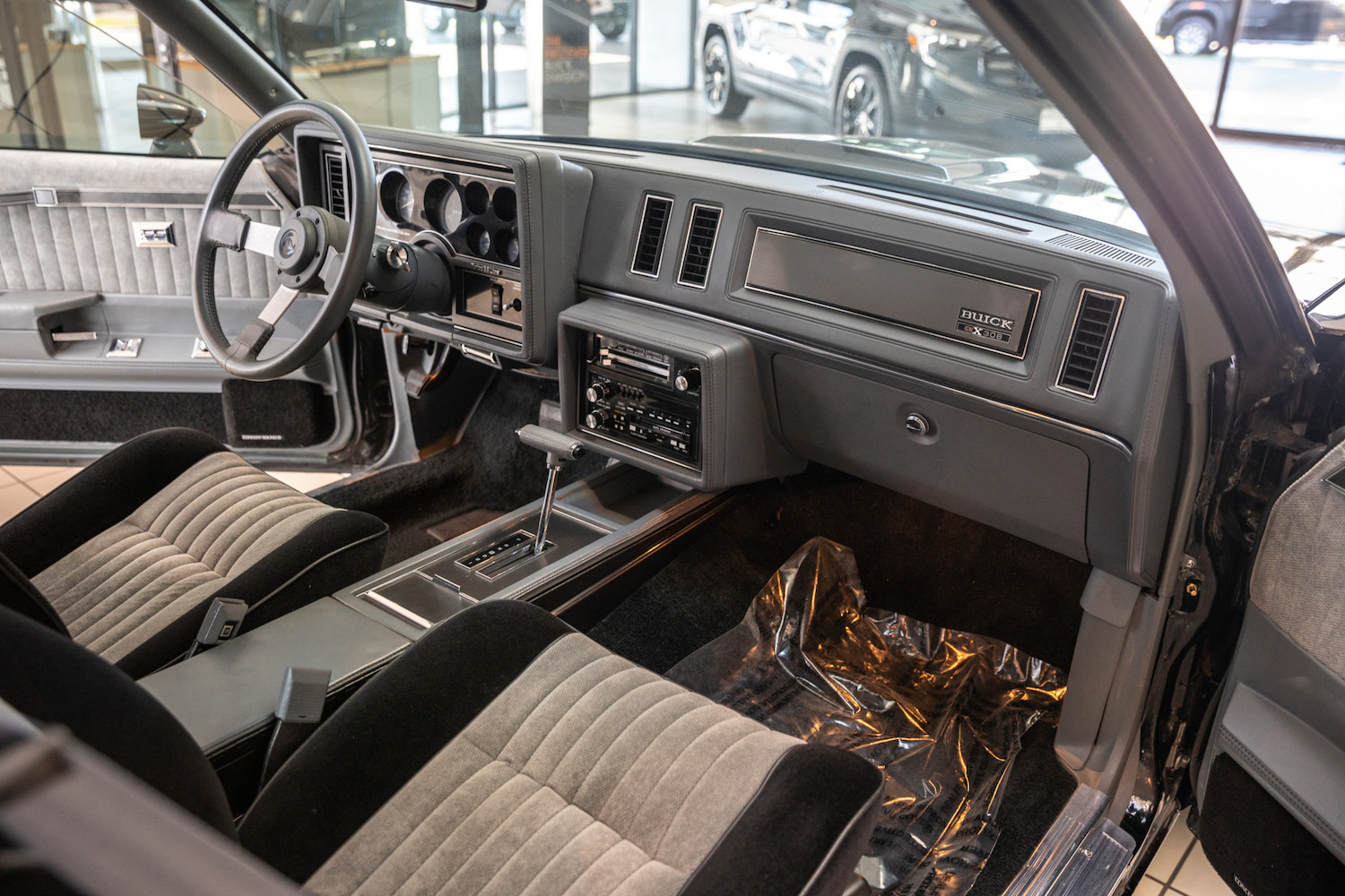 1987 Buick GNX interior front